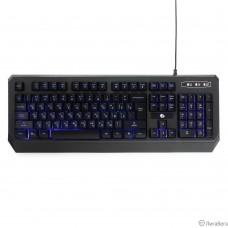 Клавиатура игровая Gembird KB-G20L черный USB {104 клавиши, подсветка синяя, FN клавиши, кабель 1.75м}
