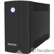 Импульс ИБП Юниор 450 {450 ВА/240 Вт, LED,  АКБ 1х4.5Ач, IEC-C13x4},черный {00-КБ001546}