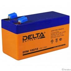 Delta DTM 12012  (1.2 А\ч, 12В) свинцово- кислотный аккумулятор