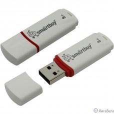 Smartbuy USB Drive 8Gb Crown White SB8GBCRW-W
