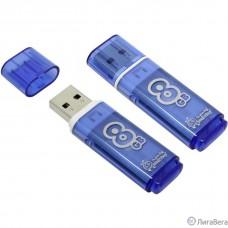 Smartbuy USB Drive 8Gb Glossy series Blue SB8GBGS-B