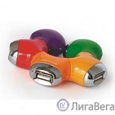 HUB USB 2.0 Konoos  UK-07 ″Цветок″, 4 порта USB, блистер