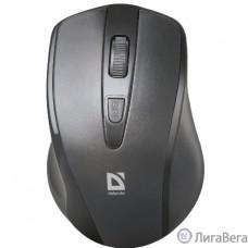 Defender Datum MM-265 черный {Беспроводная оптическая мышь, 3 кнопки,1600 dpi} [52265]