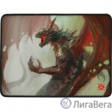 Defender Dragon Rage M 360x270x3 мм, игровой коврик, ткань + резина [50558]