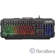 Гарнизон Клавиатура игровая GK-330G, подсветка, код ″Survarium″,  USB, черный, антифантомные  клавиш