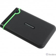 Transcend Portable HDD 2Tb StoreJet TS2TSJ25M3S {USB 3.0, 2.5″, black-green}