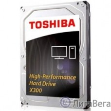 4TB Toshiba X300 (HDWE140EZSTA) {SATA 6.0Gb/s, 7200 rpm, 128Mb buffer, 3.5″}