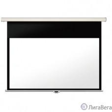 LUMIEN Master Picture CSR LMP-100101CSR Настенный экран 123x151 см (раб.область 110х146 см) (72″) Matte White, механизм плавного возврата, возможность потолочн./настенного крепления  (белый корпус)4:3