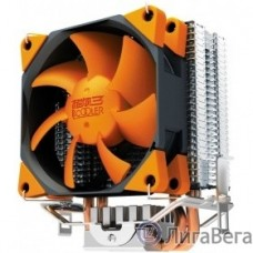 PCCooler S88 Кулер S88 S775/115X/AM2/AM3/AM4/FM1/FM2 (48 шт/кор, TDP 98W, вент-р 80мм с PWM, 2 тепловые трубки 6мм, 1200-2000RPM, 20.5dBa) Retail Color Box
