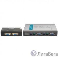 D-Link DKVM-4K/A7B/B1A/B2A 4-портовый KVM-переключатель с портами PS2