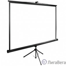 Экран Cactus TriExpert CS-PSTE-180x135-BK 135x180 см 4:3 напольный рулонный
