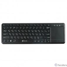 Клавиатура Oklick 830ST черный USB [1011937] {Клавиатура беспроводная slim Multimedia Touch}