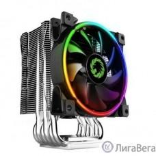 GameMax Gamma 500 RAINBOW Кулер универсальный, Intel/AMD TDP 187W CPU
