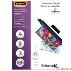 Fellowes Пленка для ламинирования FS-53962 (А4, 80 мкм, 25 шт.)