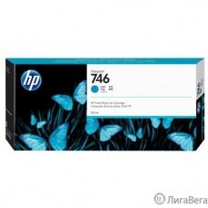 HP  P2V80A Картридж HP 746 голубой   {HP DesignJet Z6/Z9+ series, (300 мл)}