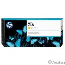 HP  P2V79A Картридж HP 746 струйный желтый {HP DesignJet Z6/Z9+ series, (300 мл)}