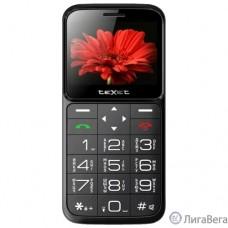 TEXET TM-B226 Мобильный телефон цвет черный-красный