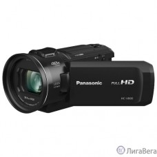 Видеокамера Panasonic HC-V800EE-K, Wi-Fi, FULL HD, SD видеокамера, чёрный