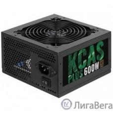 Aerocool 600W RTL KCAS-600 PLUS  { 80+ bronze (24+4+4pin) APFC 120mm fan 7xSATA RTL}
