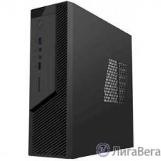 Foxline FL-RS02BLK-FX250T Case Foxline mITX 250W TFX, 2xUSB3.0, Black/Black Trim, powercord