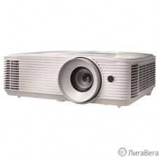 Optoma EH334 Проектор {Full 3D;DLP, Full HD(1920x1080), 3600 ANSI Lm, 20000:1,16:9; TR=1.47:1 - 1.62:1; HDMI (1.4a 3D support) + MHL; VGAx1; Composite; AudioIN x1; VGA Out; Audio Out 3.5mm; RS232; USB