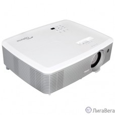 Optoma EH400 [95.78E01GC0E] Проектор {DLP 1920x1080 4000Lm, 22000:1; TR 1.47 - 1.63:1; HDMI x2; MHL; VGA IN; Composite; Audio IN 3,5mm; VGA Out; Audio Out; RS232; USB A Power (5V-1A); 2W}