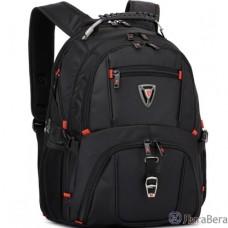 Рюкзак SUMDEX PJN-301 BK нейлон, черная, до 16″