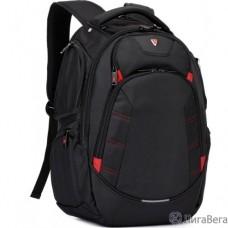 Рюкзак SUMDEX PJN-303 BK нейлон, черная, до 16″