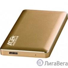 AgeStar 3UB2A16 (GOLD) USB 3.0 Внешний корпус 2.5″ SATA, алюминий, золотой, безвинтовая конструкция