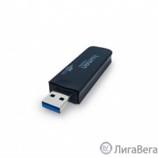 USB 3.0 Card reader CBR Human Friends Speed Rate Rex, черный цвет, поддержка карт: T-flash, Micro SD, SD, SDHC, Rex
