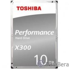 10TB Toshiba X300 (HDWR11AUZSVA) {SATA 6.0Gb/s, 7200 rpm, 256Mb buffer, 3.5″}