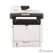 Ricoh SP 3710SF МФУ, A4, 256Мб, 32стр/мин, дуплекс, ARDF35, сенс.экран, факс, PS, LAN, старт.картр.7000стр.(408267)
