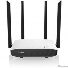 ZYXEL NBG6615-EU0101F Гигабитный Wi-Fi машрутизатор Zyxel NBG6615, AC1200, AC Wave 2, MU-MIMO, 802.11a/b/g/n/ac (400+867 Мбит/с), 1xWAN GE, 4xLAN GE  (нет поддержки L2TP)