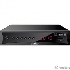 Perfeo DVB-T2/C приставка ″CONSUL″ для цифр.TV, Wi-Fi, IPTV, HDMI, 2 USB, DolbyDigital, пульт ДУ [PF_A4413]