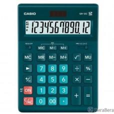 Калькулятор настольный CASIO GR-12C-DG темно-зеленый  {Калькулятор 12-разрядный}