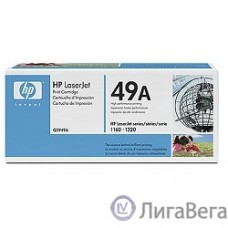 HP Q5949A Картридж ,Black{LaserJet 1160/1320, Black, (2500стр)}