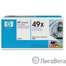 HP Q5949X Картридж ,Black{LaserJet 1320, Black, (6000 стр.)}
