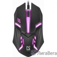 Defender Cyber MB-560L [52560] {Проводная оптическая мышь, 7 цветов, 3 кнопки,1200dpi, черный}