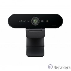 960-001194 Logitech Brio Stream Edition черный (3840x2160) USB3.0 с микрофоном