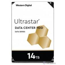 14Tb WD Ultrastar DC HC530 {SATA 6Gb/s, 7200 rpm, 512mb buffer, 3.5″} [0F31284/WUH721414ALE6L4]