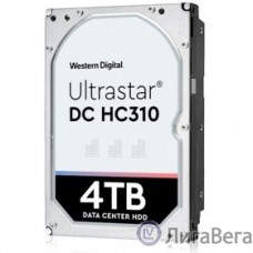 4Tb WD Ultrastar DC HC310 (HUS726T4TAL5204) {SAS 12Gb/s, 7200 rpm, 256mb buffer, 512E SE, 3.5″} [0B36048]