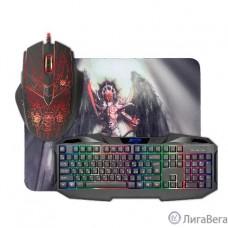 Defender Anger MKP-019 RU [52019] {Игровой набор: мышь+клавиатура+ковер }