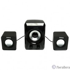 Dialog Colibri AC-202UP BLACK - колонки 2.1, 11W RMS, черные, питание от USB