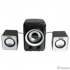 Dialog Colibri AC-202UP BLACK-WHITE - колонки 2.1, 11W RMS, черные, питание от USB