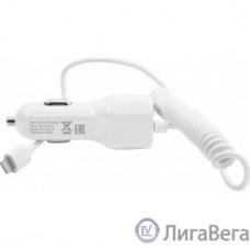Harper Автомобильное зарядное устройство  CCH-3115 white  (1 USB-порт, 2.1А, кабель lightning;)