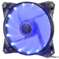 CROWN Вентилятор для компьютерного корпуса CMCF-12025S-1221  (120*120*25мм;Синий 16LED;1500 об/мин;35CFM;20Дб;Подшипник скольжения;3pin+MOLEX(папа-мама) 40+10см)