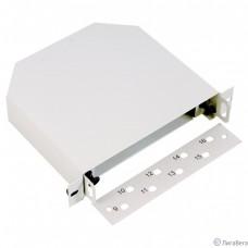 ЦМО Оптический бокс ST 10″, 8 портов, светло серый (БОН-М-10)