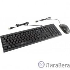 Клавиатура + мышь Oklick 630M черный USB [1091260]