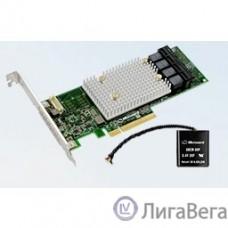 Adaptec SmartRAID 3154-16i SGL (2295000-R),16-port, RAID 0/1/10/5/6/50/60, 4Gb, PCI-Ex8