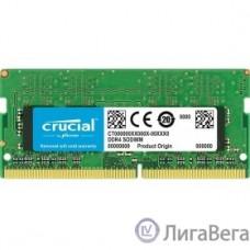 Crucial DDR4 SODIMM 4GB CT4G4SFS8266 PC4-21300, 2666MHz